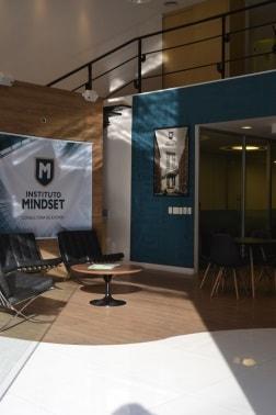 Instituto Mindset reception area