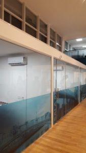 Salas de aula em nossa unidade